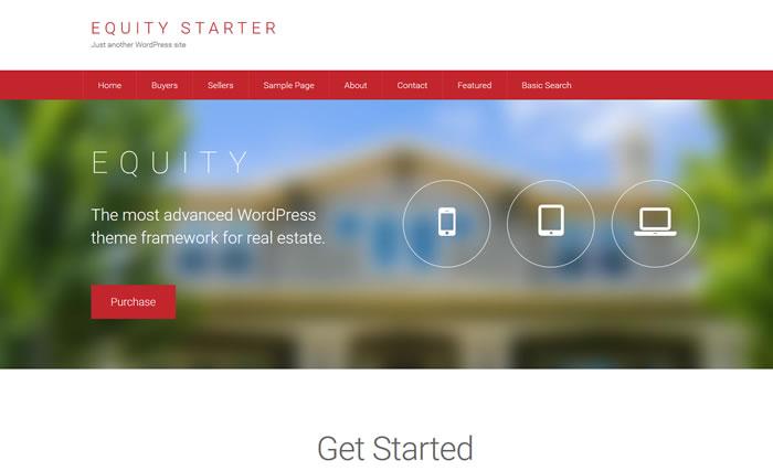 Equity WordPress Framework for Real Estate Websites with IDX Broker Integration