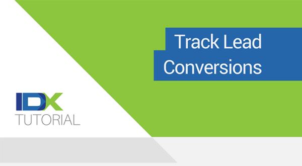 track lead conversions