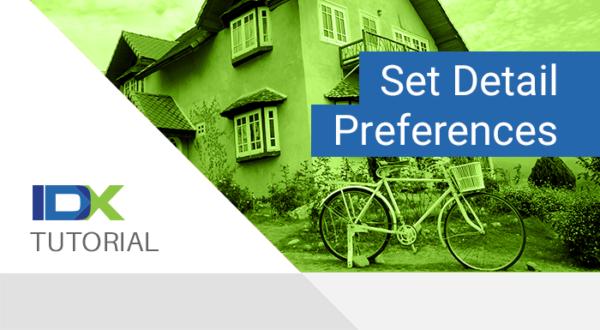 set detail preferences