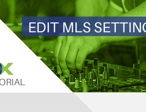 Tutorial Tuesday – Edit MLS Settings